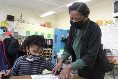Golden Apple Teacher for January: T.J. Harris' Carolyn Lewis finds joy in teaching