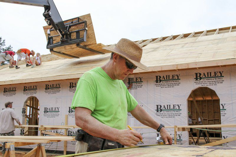 Builders for Christ help construct church in Meehan