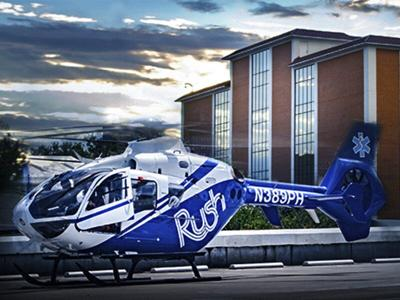 Rush Health Systems provides PHI Air Medical with blood products