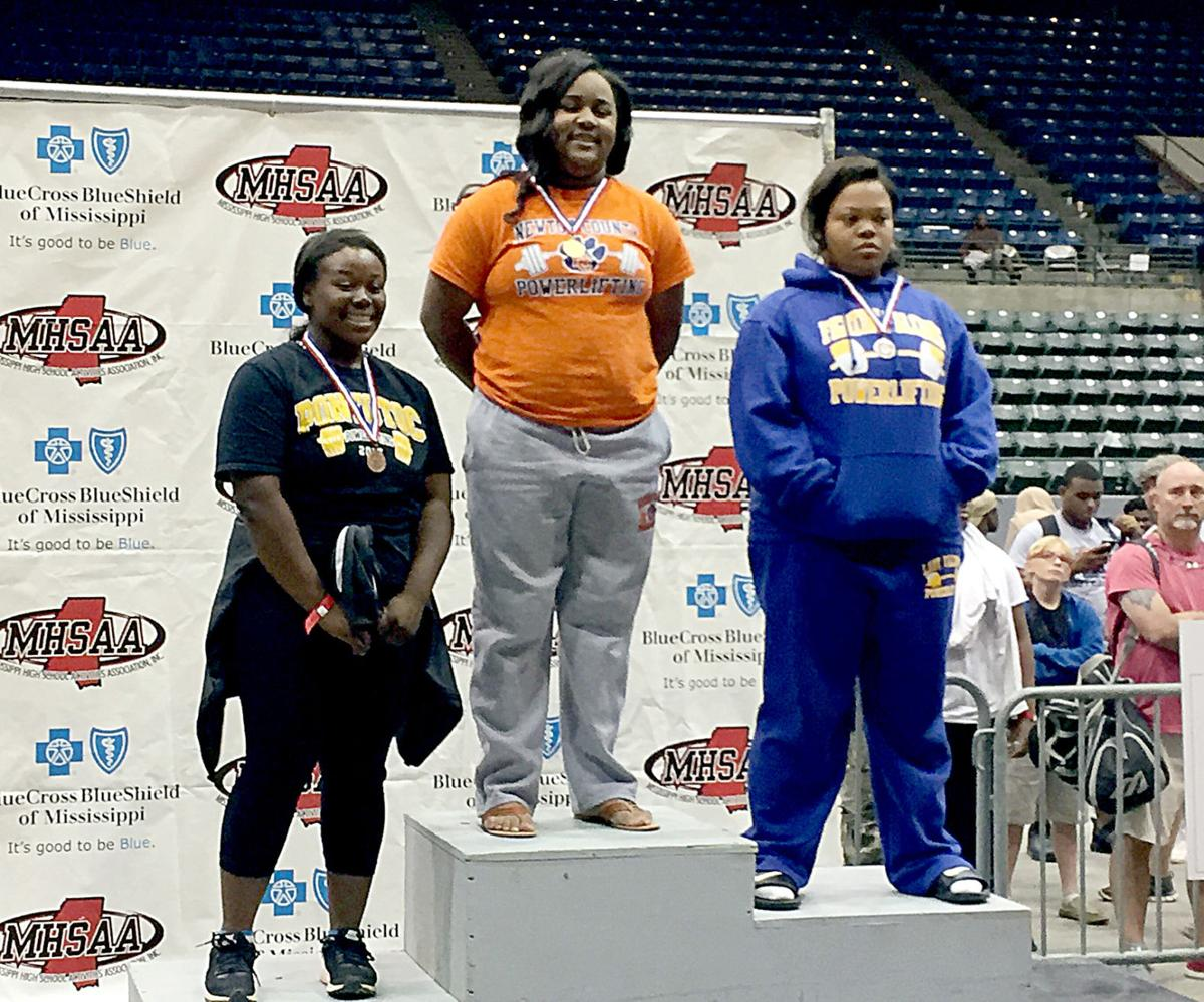 Mississippi newton county decatur - Newton County Senior Laprecious Tubbs Center Is Pictured On The Podium At The Mississippi Coliseum In Jackson April 14 After Winning First Place In Her