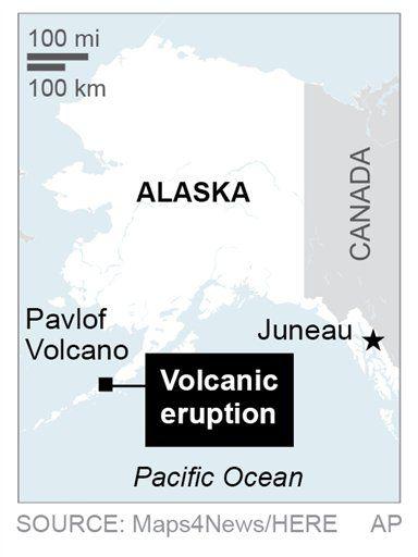 Volcano Erupts In Southwest Alaska Sends Ash 20 000 Feet Nation