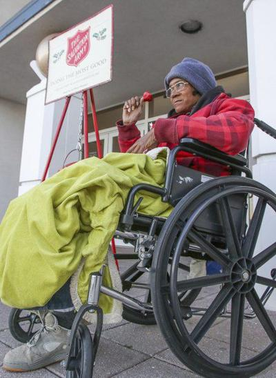 Adversity doesn't stop Salvation Army bell ringer in Meridian