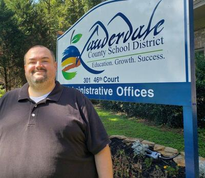 Educator Ken Hardy embraces new role at Lauderdale County's central office