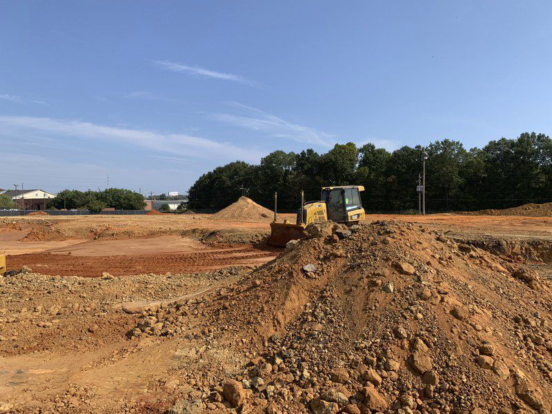 Early site work under way for Mississippi Children's Museum-Meridian