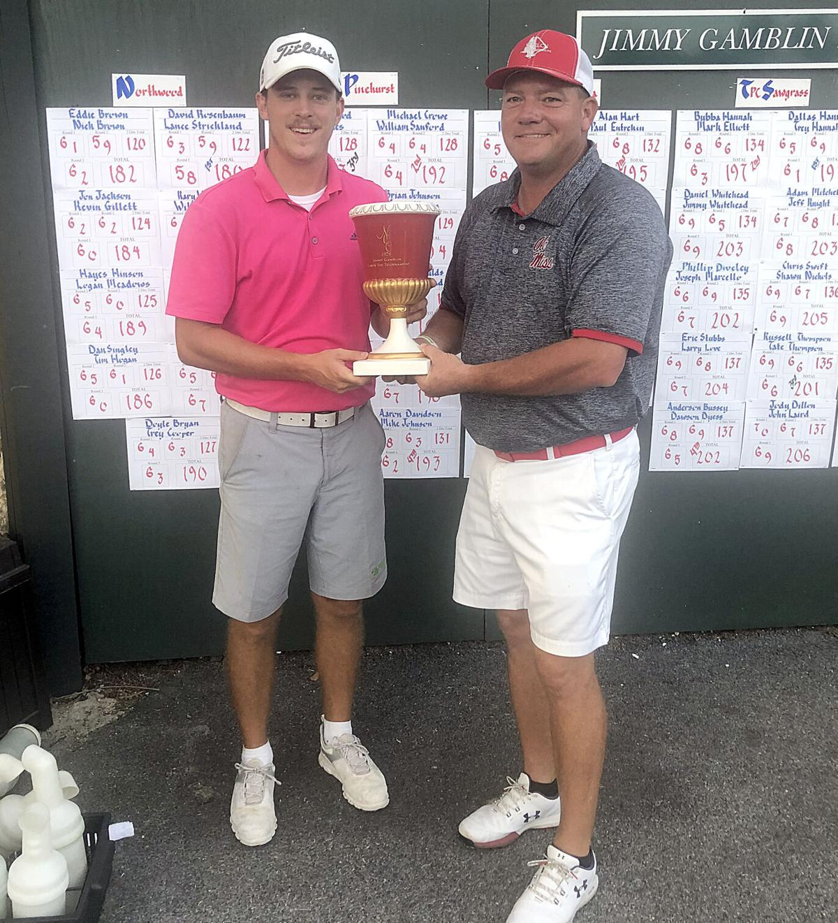 Jimmy Gamblin Labor Day Tournament winners