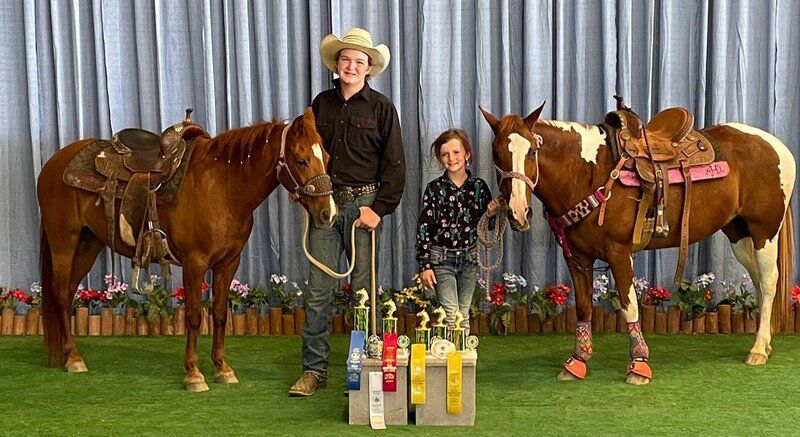 4-H family shines at state horse show
