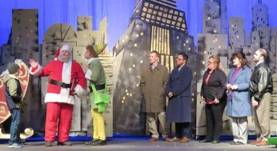 Elf The Musical playing at Meridian Little Theatre