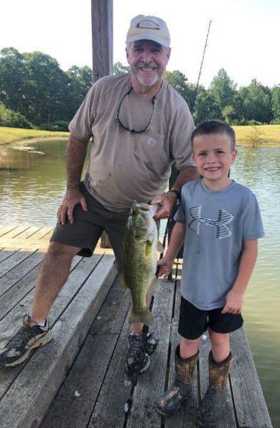 MIKE GILES: Slow down for hot bass catching action