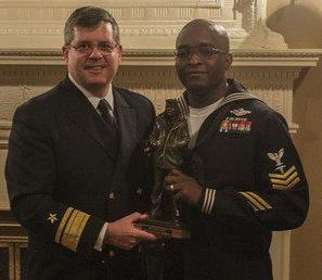 Meridian native wins Sailor of the Year in Norfolk