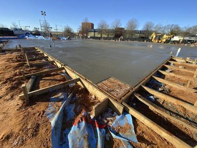 Foundation work underway for Mississippi Children's Museum-Meridian