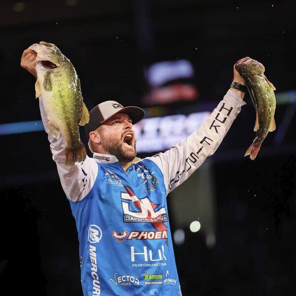 MIKE GILES: Collinsville's Mosley roars into 5th place at the Bassmaster Classic