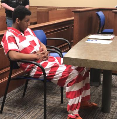 Teen appears in court