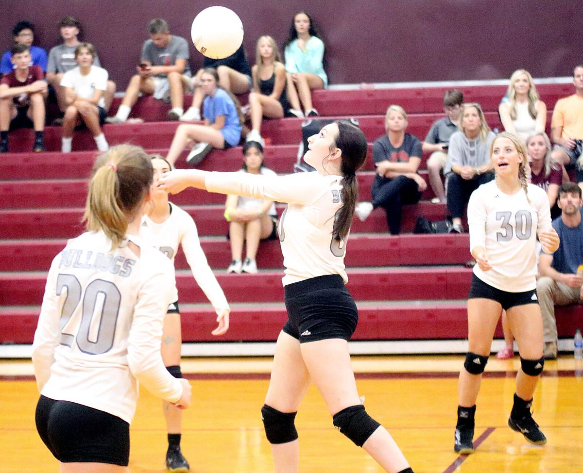 Clarkdale volleyball Berta Soules
