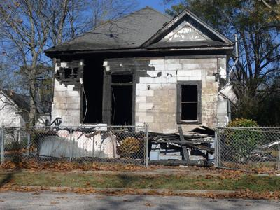 House fire damages vacant Hooper Street home