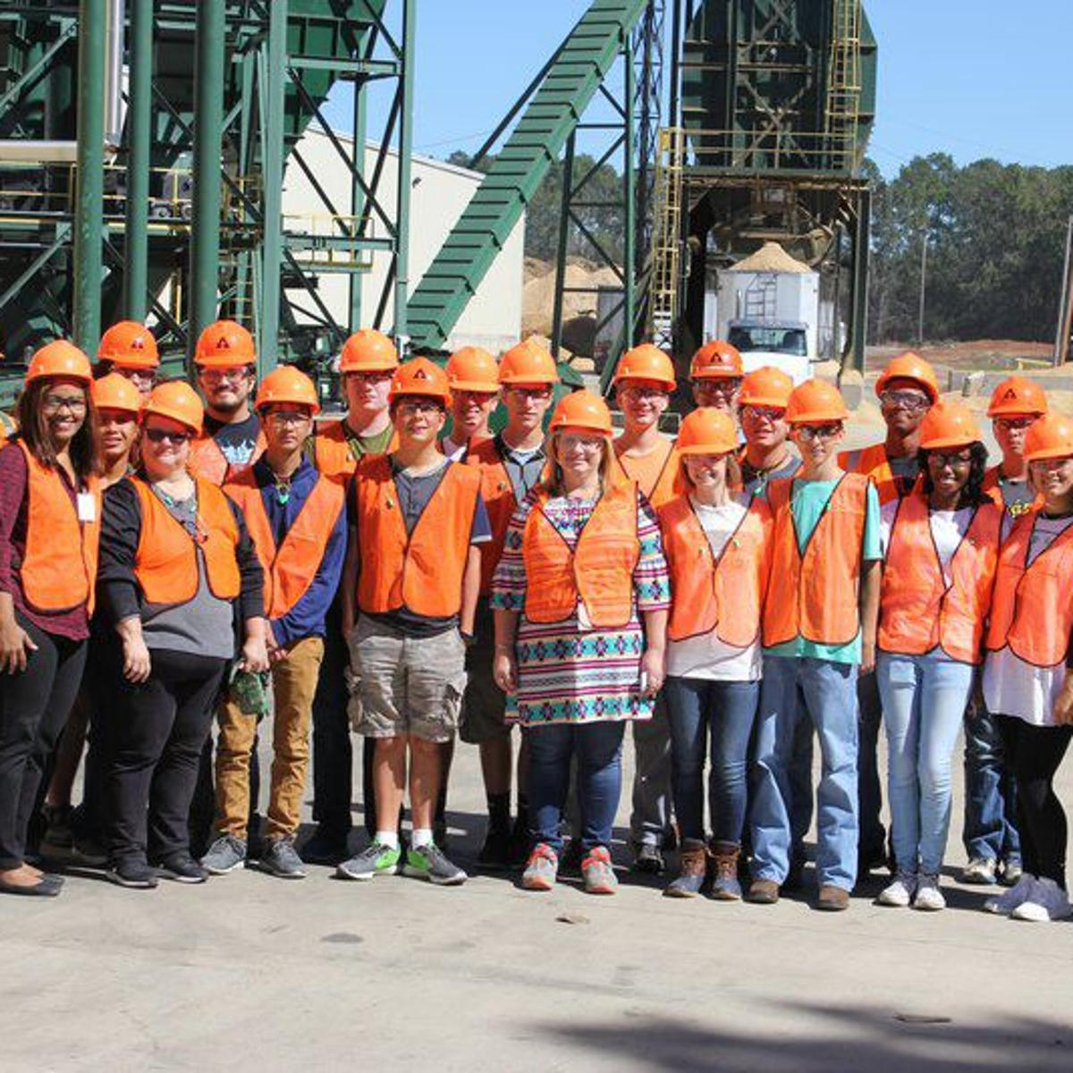 NCHS engineering students get behind-the-scenes view of