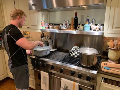 ROBERT ST. JOHN: Cooking with Dad, a sweet plan