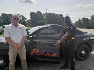 Meridian police unveil new cruisers