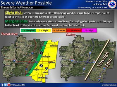 Saturday, Jan. 19 weather update