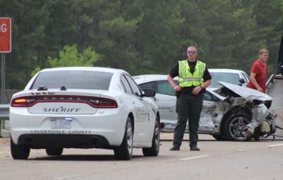 Wreck slows traffic on Highway 145 in Lauderdale County