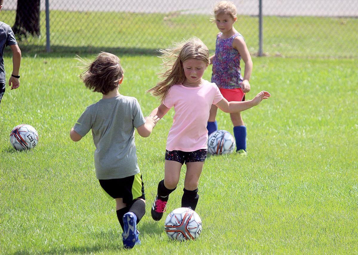 MCC soccer camp - Ava Devuono