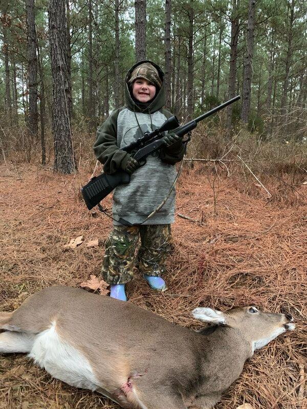 New hunters harvest 1st deer
