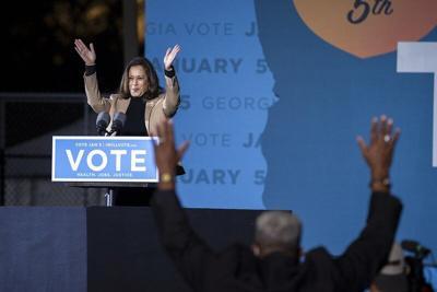 'A huge accomplishment': Meridianites inspired by Kamala Harris' political success