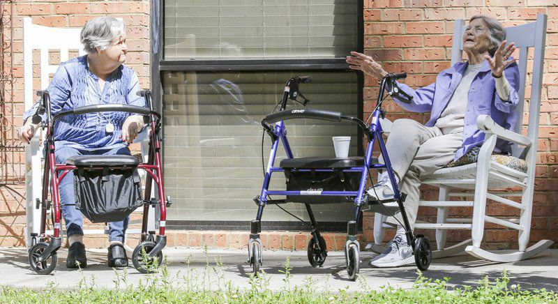 ALONE, TOGETHER Aldersgate residents, staff adapt to COVID-19 restrictions