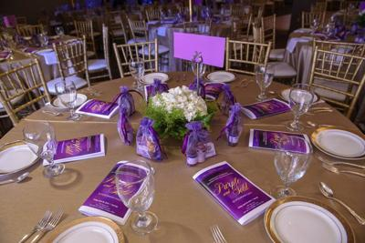 Meridian/Lauderdale Alcorn State University Alumni Chapter presents … Purple and Gold Scholarship Gala Annual event to honor ASU president Dr. Felecia M. Nave