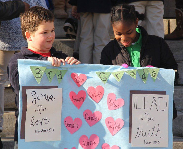 St. Patrick students receive, give appreciation in Meridian