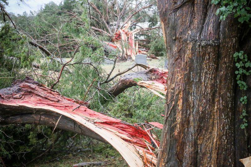 Tornado tears through Clarke County