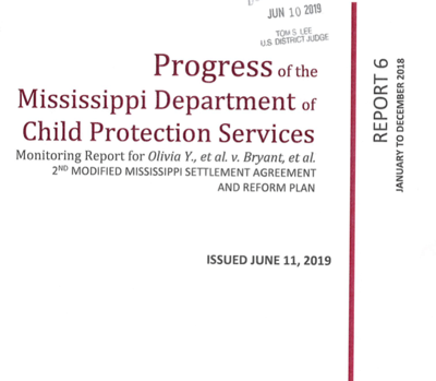 Mississippi foster care system fails many measures