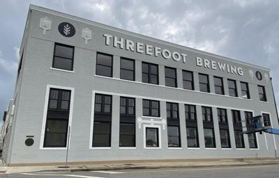 A sign of progress at the Threefoot Brewing Company