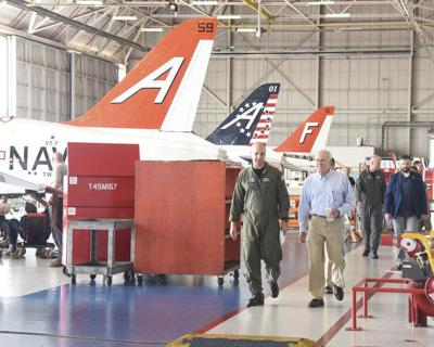 Secretary of the Navy visits NAS Meridian