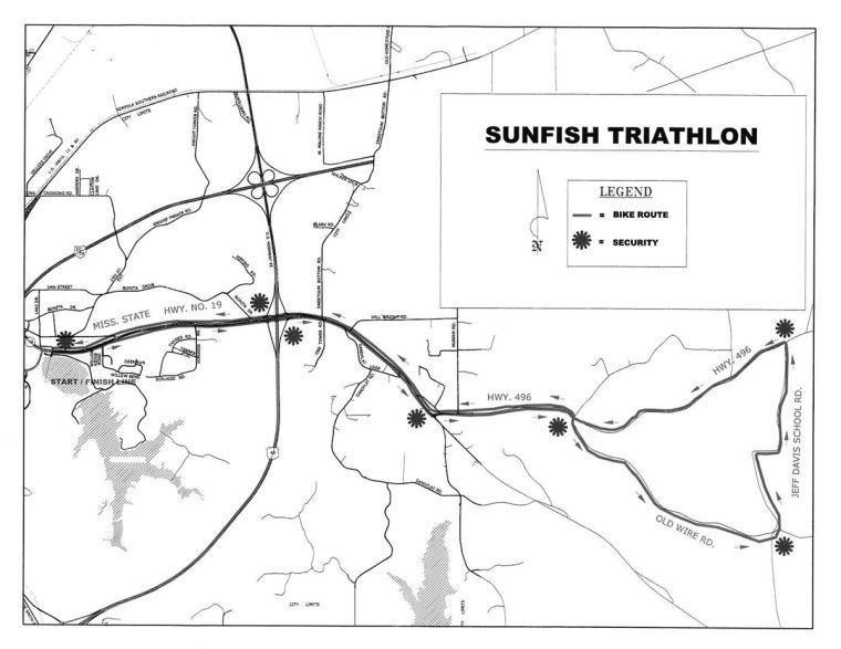 Sunfire bike map