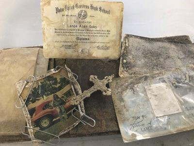 Wallet found 39 years later onboard NAS Meridian