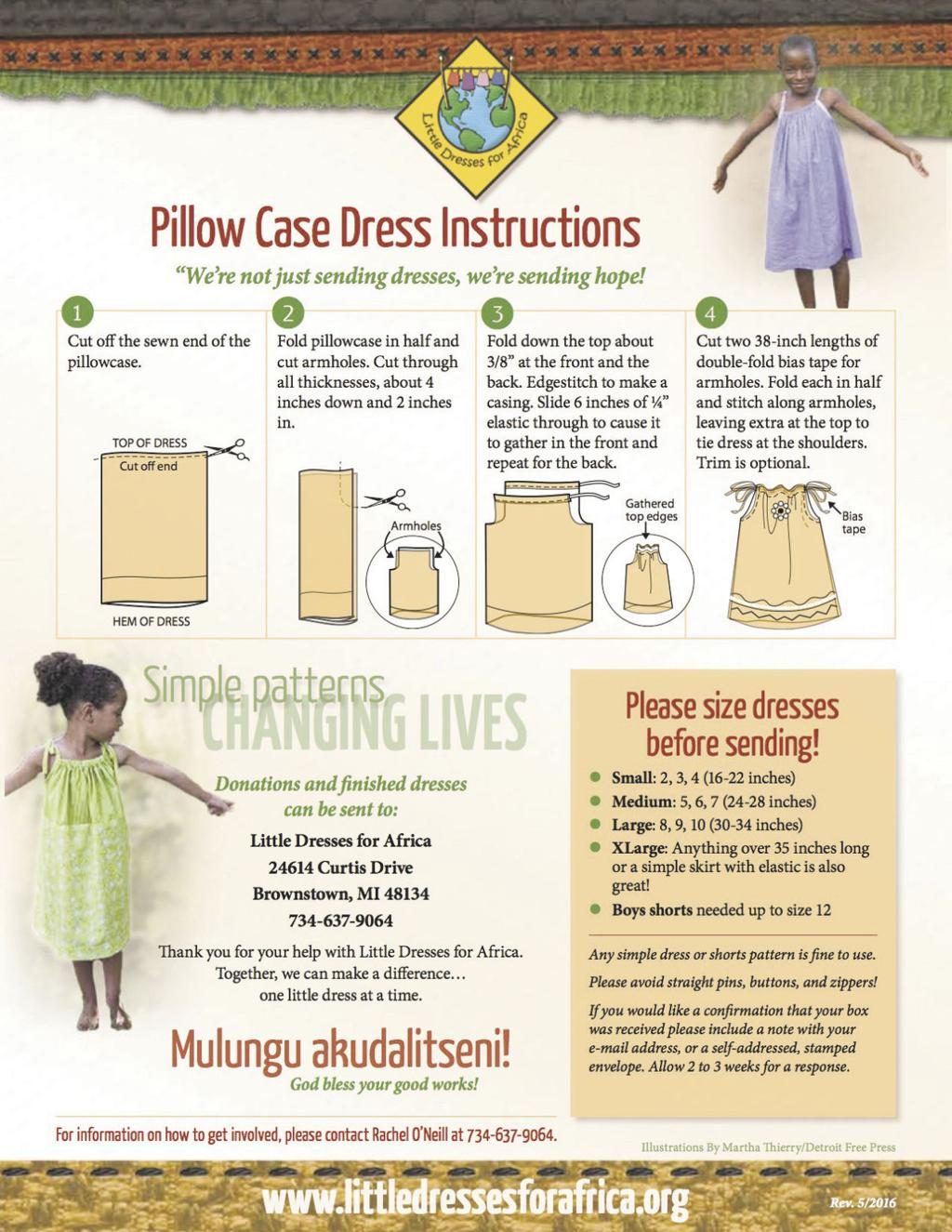 Meridian AKA and Little Dresses for Africa  Community