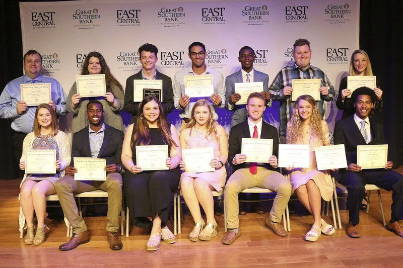 ECCC students honored during 2019 awards ceremony