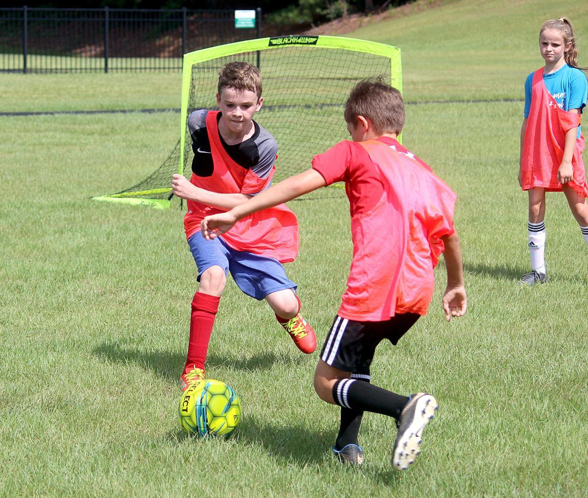 MCC soccer camp - Jack Hulbert