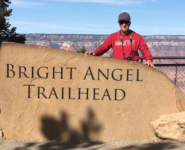 BRAD DYE: Rim to rim at the Grand Canyon - a hiker's bucket list