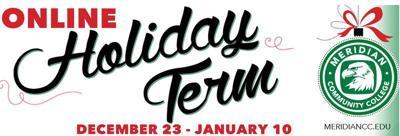 MCC offers holiday term beginning Dec. 23