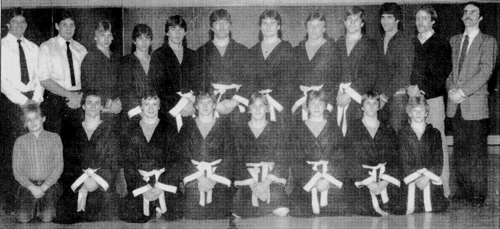 Hibbing wrestling dominated 7AA in 1984 and 1985