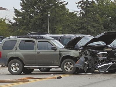 Felony traffic stop crash