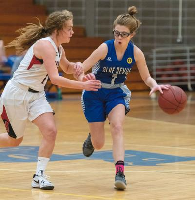 Trygg drops in 23 to lead Devils past Raiders, 71-47