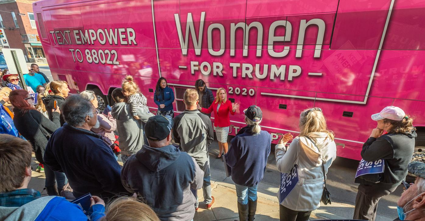 Women for Trump rally 1