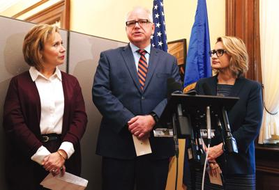 Walz starts transition to governor after big win