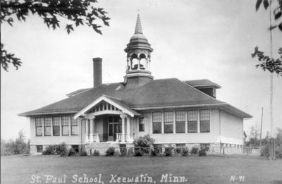 Nashwauk and Keewatin schoolhouse