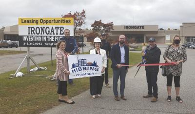 The Hibbing Area Chamber of Commerce Ambassadors welcome a new member