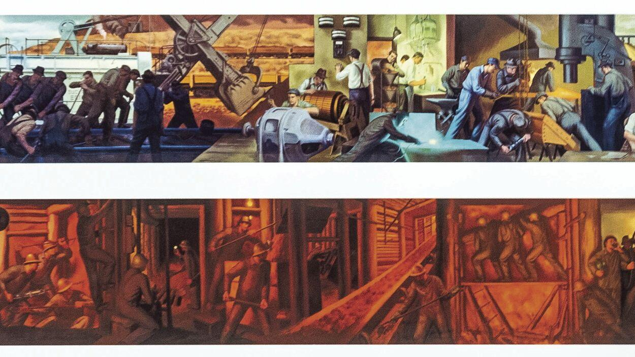 1930s mural to find a new home at Event Center
