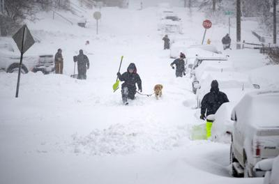 Blizzard hits Iron Range, as well