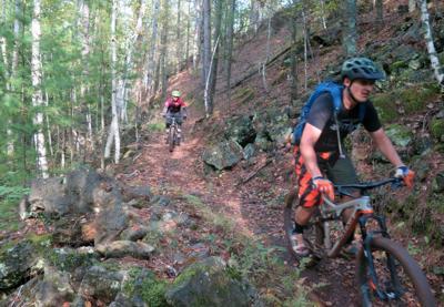 Rugged terrain lures mountain bikers to northeastern Minnesota's booming trails